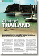 boat charter for a taste of Thailand