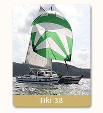 yacht charter in Phuket on Tiki 38 with Siam Sailing