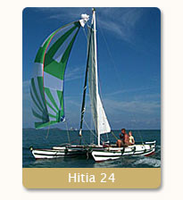 sailing in Phuket on Hitia 24