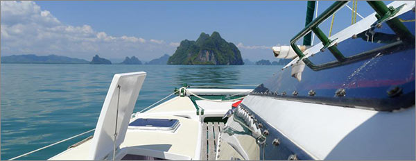 boat charter with Siam Sailing with destination Koh Roi